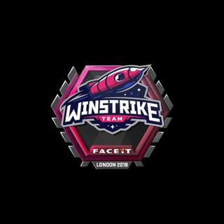 Sticker | Winstrike Team | London 2018