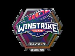 Sticker   Winstrike Team (Holo)   London 2018