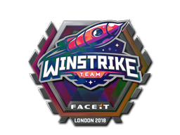 Sticker | Winstrike Team (Holo) | London 2018