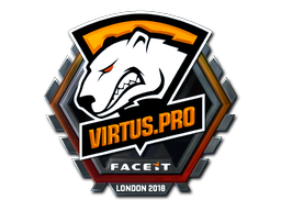 Sticker | Virtus.Pro (Foil) | London 2018