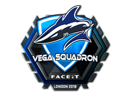 Sticker | Vega Squadron (Foil) | London 2018