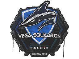 Sealed Graffiti | Vega Squadron | London 2018