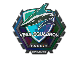 Sticker | Vega Squadron (Holo) | London 2018