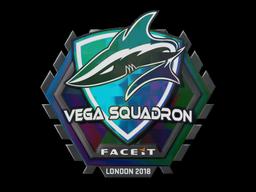 Sticker | Vega Squadron (Holo) | London 2018