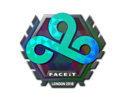 Sticker | Cloud9 (Holo) | London 2018