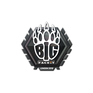 Sticker   BIG   London 2018