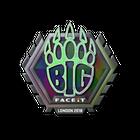 Sticker | BIG (Holo) | London 2018