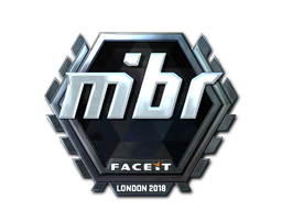 Sticker | MIBR (Foil) | London 2018