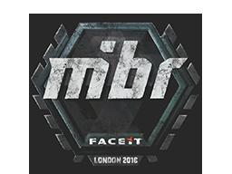 Sealed Graffiti | MIBR | London 2018