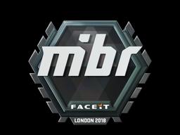 Наклейка | MIBR | Лондон 2018