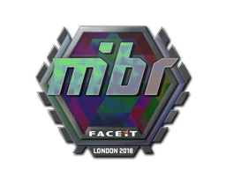 Sticker | MIBR (Holo) | London 2018