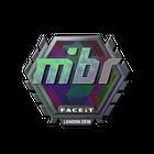 Sticker | MIBR (Holo) | London 2018