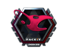 Sticker | mousesports (Foil) | London 2018
