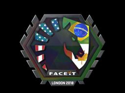Наклейка | Team Liquid (голографическая) | Лондон 2018