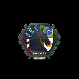 Sticker   Team Liquid (Holo)   London 2018
