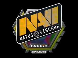 Наклейка | Natus Vincere (голографическая) | Лондон 2018