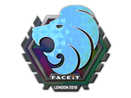 Sticker | North (Holo) | London 2018