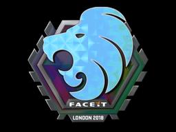 Sticker | North (Holo) | London 2018