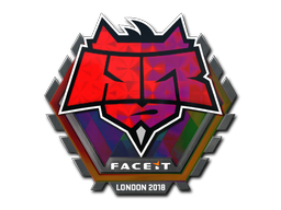 Sticker | HellRaisers (Holo) | London 2018