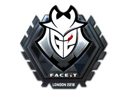 Sticker | G2 Esports (Foil) | London 2018