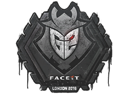 Sealed Graffiti | G2 Esports | London 2018