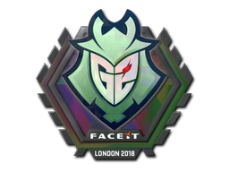 Sticker | G2 Esports (Holo) | London 2018