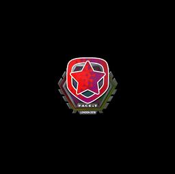 Sticker   Gambit Esports (Holo)   London 2018