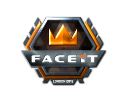 Sticker | FACEIT (Foil) | London 2018