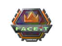 Sticker | FACEIT (Holo) | London 2018