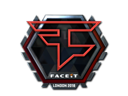 Sticker | FaZe Clan (Foil) | London 2018