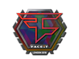 Sticker | FaZe Clan (Holo) | London 2018