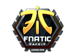 Sticker | Fnatic (Foil) | London 2018