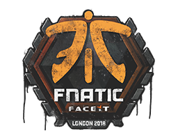 Sealed Graffiti | Fnatic | London 2018