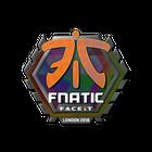 Sticker | Fnatic (Holo) | London 2018