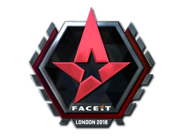 Sticker | Astralis (Foil) | London 2018