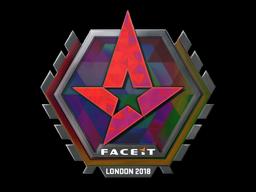 Sticker | Astralis (Holo) | London 2018
