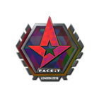 Sticker | Astralis (Holo) | London 2018