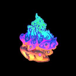 Liquid Fire (Holo)