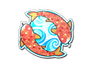 Skin Sticker | Twin Koi