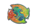 Sticker | Twin Koi (Holo)
