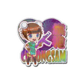 Sticker | Cheongsam <br>(Holo)
