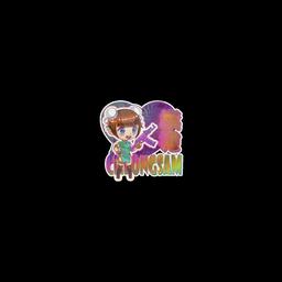 Sticker   Cheongsam (Holo)