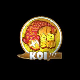 Fancy Koi (Foil)