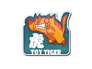 Skin Sticker | Toy Tiger