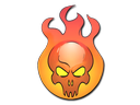 Sticker | Incineration
