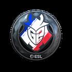 Sticker | G2 Esports (Foil) | Katowice 2019