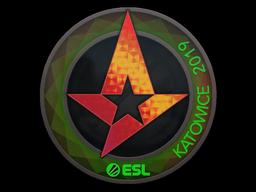 Sticker | Astralis (Holo) | Katowice 2019