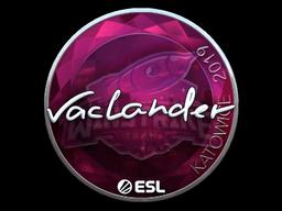 Sticker | wayLander (Foil) | Katowice 2019