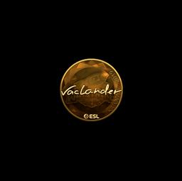Sticker | wayLander (Gold) | Katowice 2019