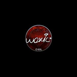 Sticker | woxic (Foil) | Katowice 2019